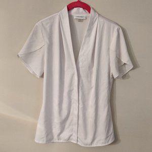 Calvin Klein Short Sleeve Blouse NWOT